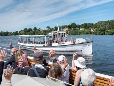 Seværdighed i Silkeborg på vandet